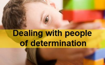 Dealing With People Of Determination