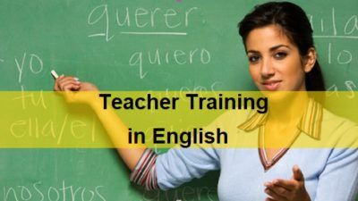 Teacher Training Program In English