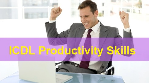 ICDL Productivity Skills Certification